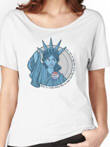 Nasty Lady Liberty Women's Relaxed Fit T-Shirt