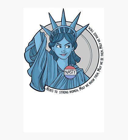 Nasty Lady Liberty Photographic Print