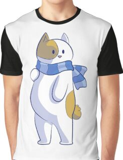 Winter cat Graphic T-Shirt