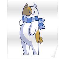 Winter cat Poster