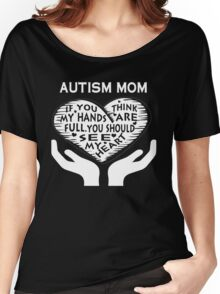AUTISM MOM Women's Relaxed Fit T-Shirt