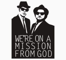 Blues Brothers - We're On A Mission From God by Josbel