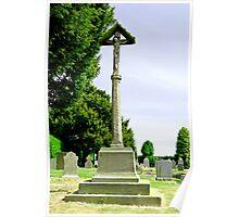 War Memorial in St Leonard's Churchyard, Wychnor Poster