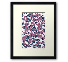 Popdots Purple Framed Print