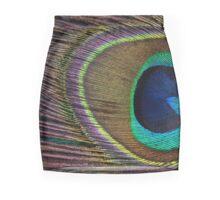 Peacock Feather Mini Skirt