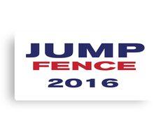 Jump Fence 2016  Canvas Print