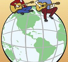 Music Around The World by Kathryn Steel