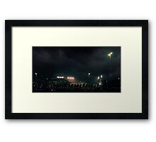 Giants stadium, but I see no giants.  Framed Print