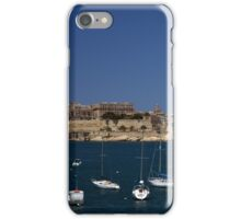 The Grand Harbor & Valletta, Malta iPhone Case/Skin