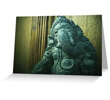 Jai Ganesh Greeting Card