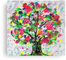 Happy Tree by Jan Marvin Canvas Print