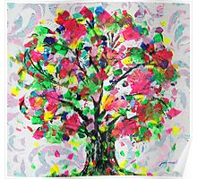 Happy Tree by Jan Marvin Poster