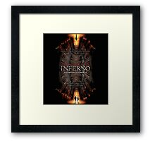 Inferno the movie Framed Print