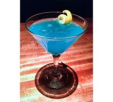 Blue Cosmo  Photographic Print