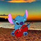 Stitch and a cello - beach by eleanor89