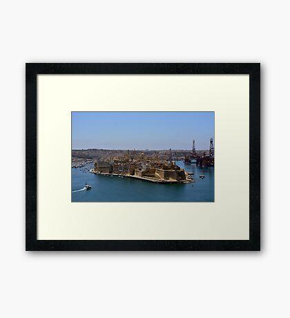 Fort St Michael, Malta Framed Print
