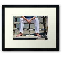 Ryan's Bare Feet Image 1689 Framed Print