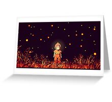 grave of the fireflies (la tumba de las luciérnagas) Greeting Card