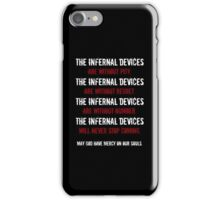 The Infernal Devices. . . iPhone Case/Skin