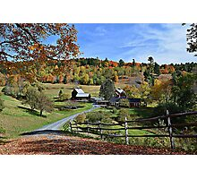 Sleepy Hollow Farm Photographic Print