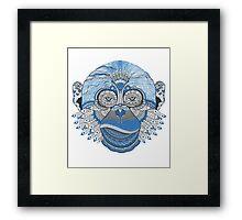 Mad monkey Framed Print