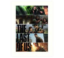 The Last of All. Art Print