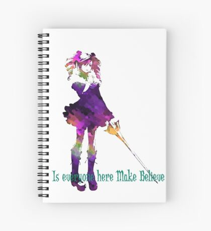 MakeBelieve? Spiral Notebook