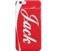 """Share a call"" -Jack iPhone Case/Skin"