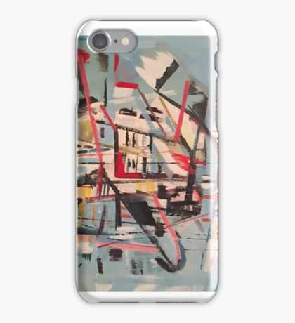 The Yacht Illusion, Requiem for Fountainhead iPhone Case/Skin