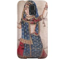 Indian Dancer, Udaipur Artwork Samsung Galaxy Case/Skin