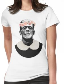 Frankenstein's cute monster Womens Fitted T-Shirt