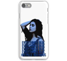 lauren jauregui blue iPhone Case/Skin