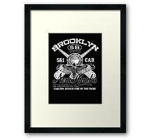 brooklyn new hawks Framed Print