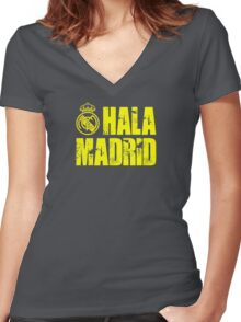 Real Madrid 2 Women's Fitted V-Neck T-Shirt