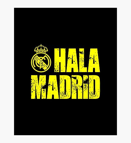 Real Madrid 2 Photographic Print