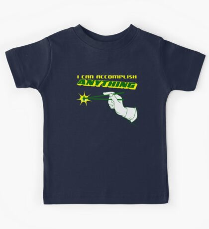 I Can Accomplish Anything - Green and Yellow Kids Tee