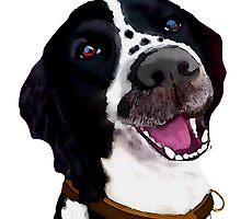 Happy Dog by Karen Harding