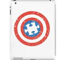 SuperHero Captain America Autism iPad Case/Skin