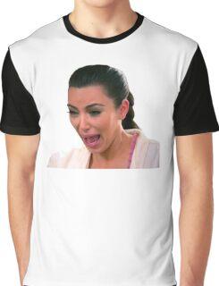 Kim Kardashian Crying Graphic T-Shirt