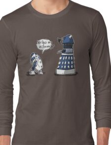 Are you my mummy? - BLUE version Long Sleeve T-Shirt