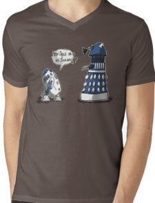 Are you my mummy? - BLUE version Mens V-Neck T-Shirt