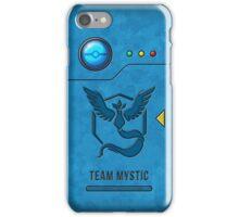 Pocket Monster Index (Mystic) iPhone Case/Skin