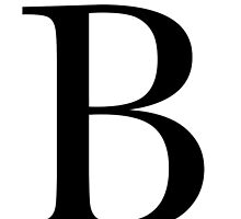 The Letter 'B' by RebeccaStephens