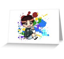 BTS Color Your Day: Jungkook Greeting Card