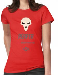 OVERWATCH REAPER Womens Fitted T-Shirt