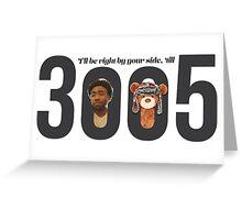 Childish Gambino - 3005 Greeting Card
