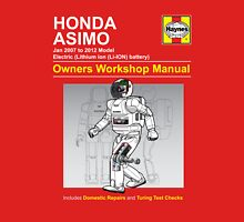 Asimo Owner/Operator Instruction Manual Unisex T-Shirt