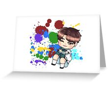 BTS Color Your Day: Jimin Greeting Card