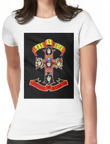 GUNS N ROSES Womens Fitted T-Shirt