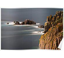 Land's End, Cornwall, UK ~ Atlantic Coast Poster